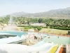 Panoramic resort-waterpark-view