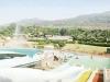 Panoramic resort-waterpark-view